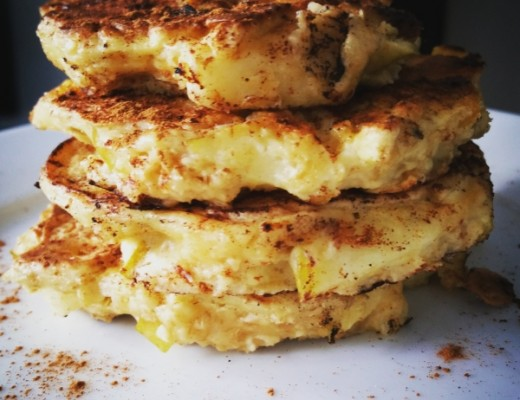 havermout appel pancakes pannenkoek haver