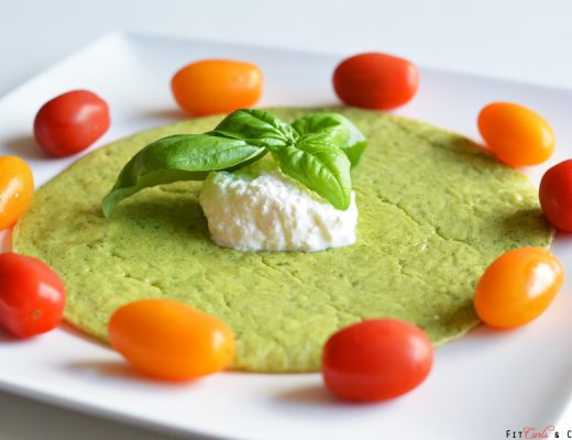 basilicum cottage cheese pancake